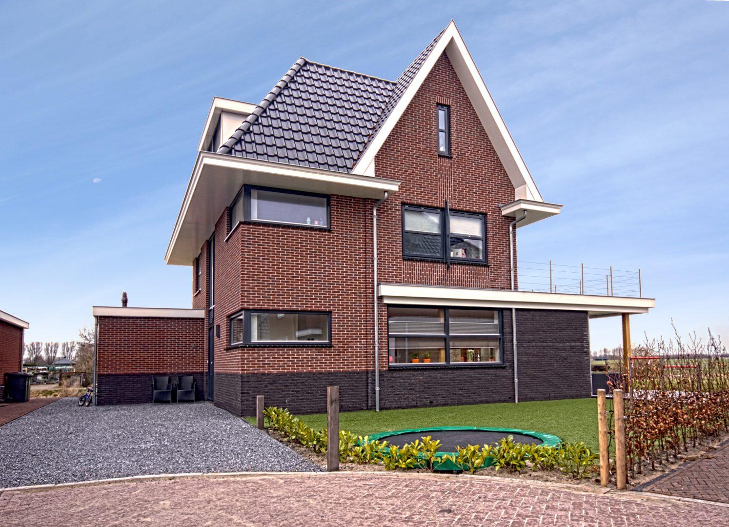 Duurzame Villa te Limmen voorgevel Zijlstra Schipper Architecten Noord-Holland
