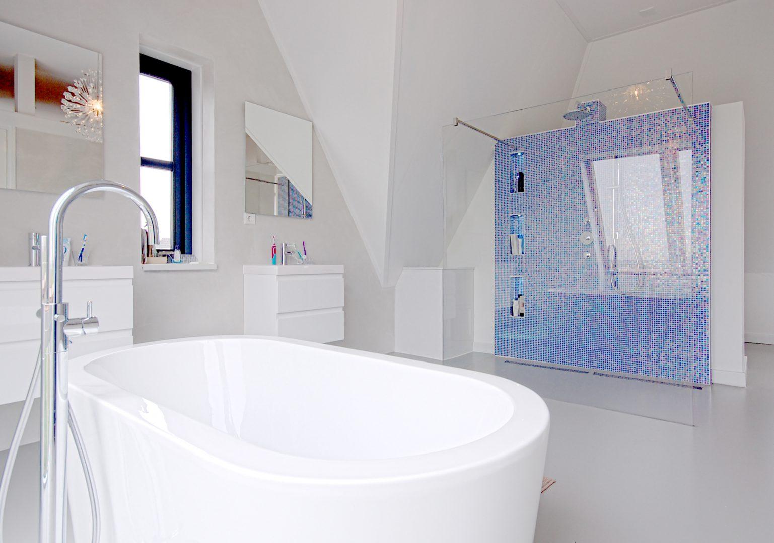 Duurzame Villa te Limmen Zijlstra Schipper Architecten Noord-Holland badkamer