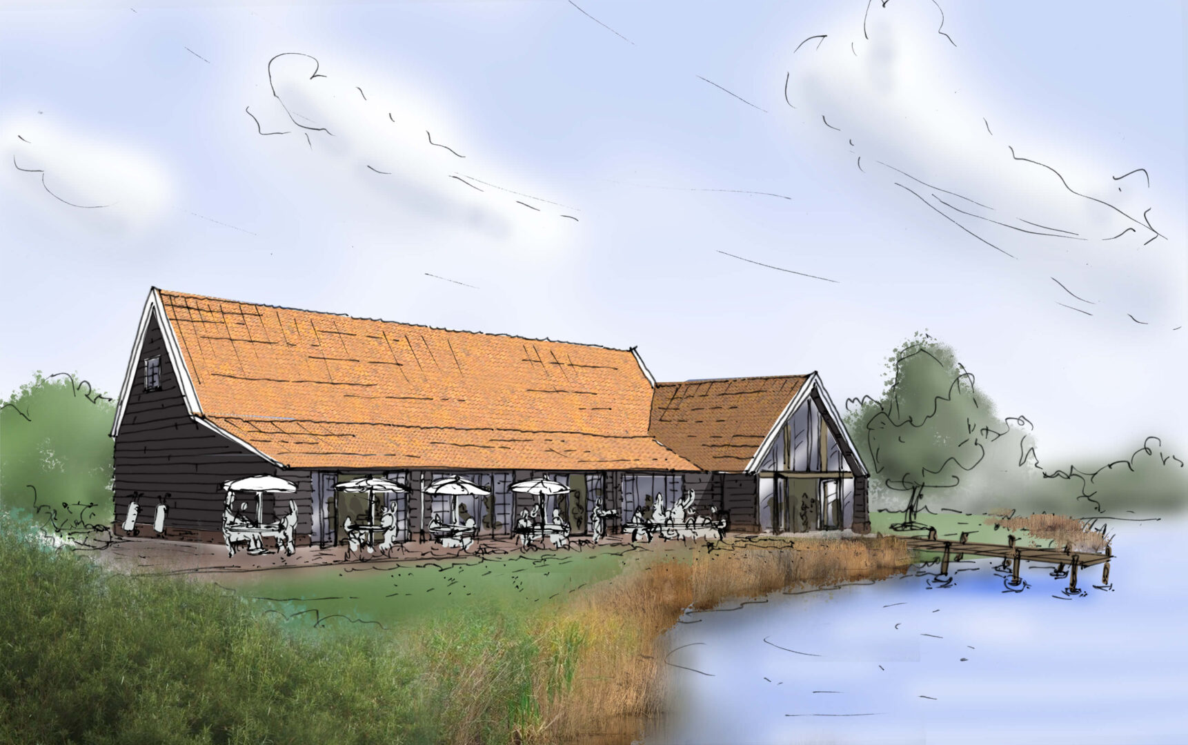 Architect-Noord-Holland-Architectenbureau-Zijlstra-Schipper-architecten-Clubhuis-restaurant-golfbaan-zaandam-01