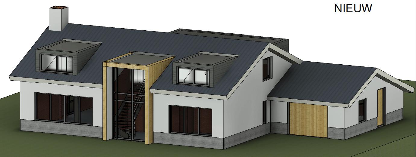 Verduurzaming bungalow met nieuw ontwerp van Zijlstra Schipper Architecten