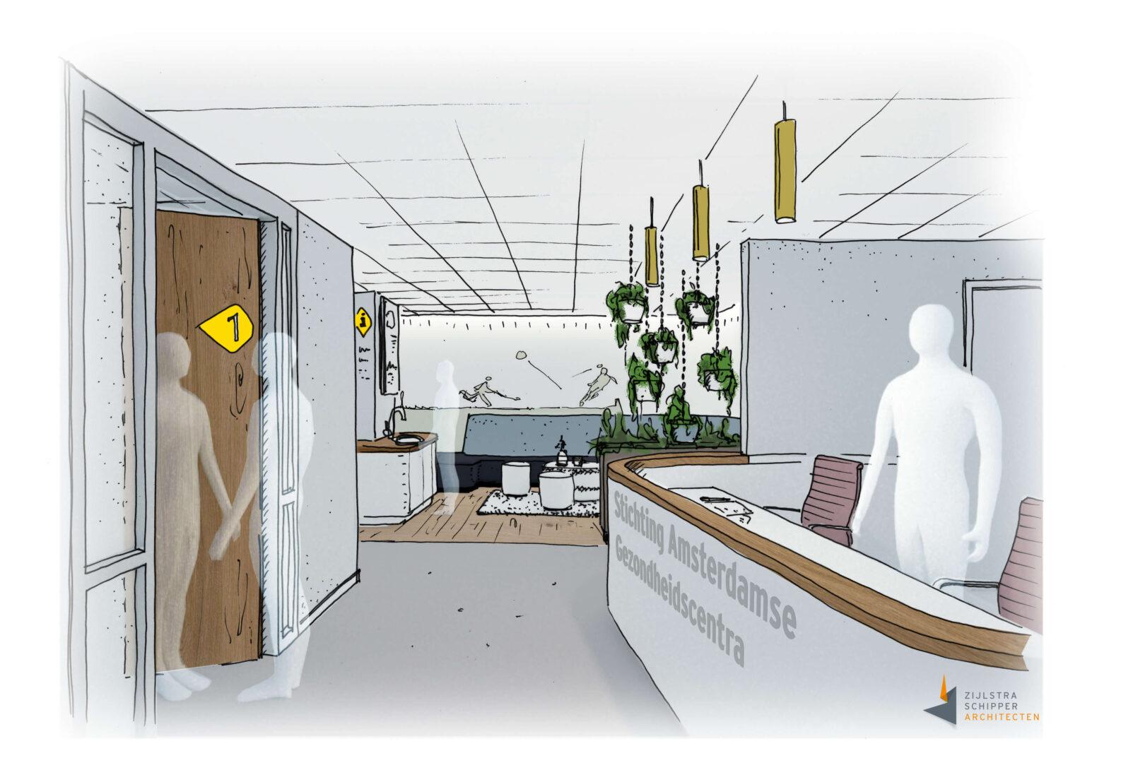Interieur-ontwerp-archictecten-bureau-Zijlstra-Schipper-Noord-Holland-Wormer-gezondheidszorg-zorg-01