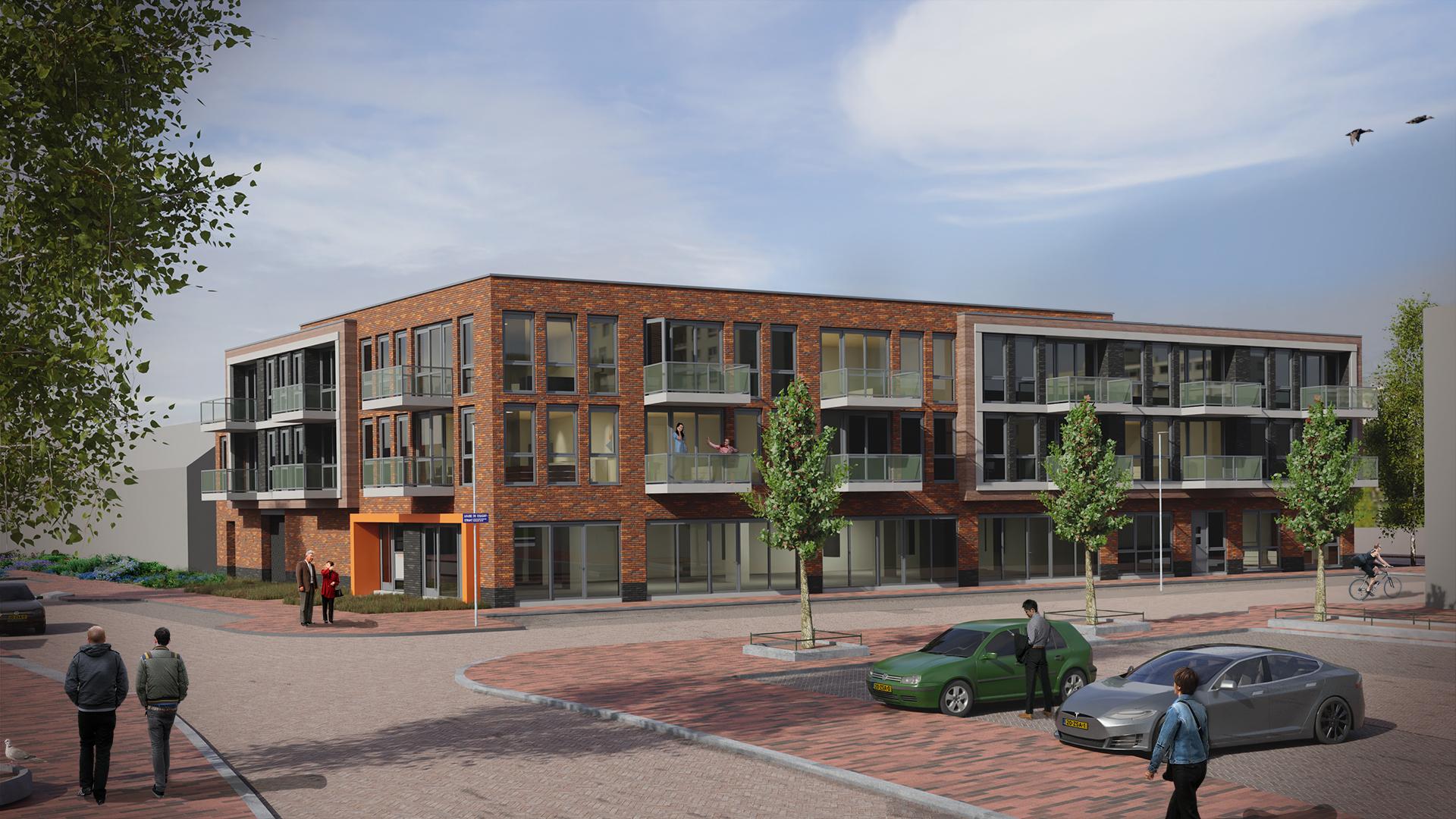 24 Nieuwbouw appartementen met zorgplint in Alkmaar
